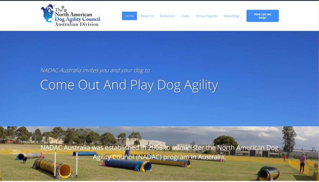 NADAC Australia web site
